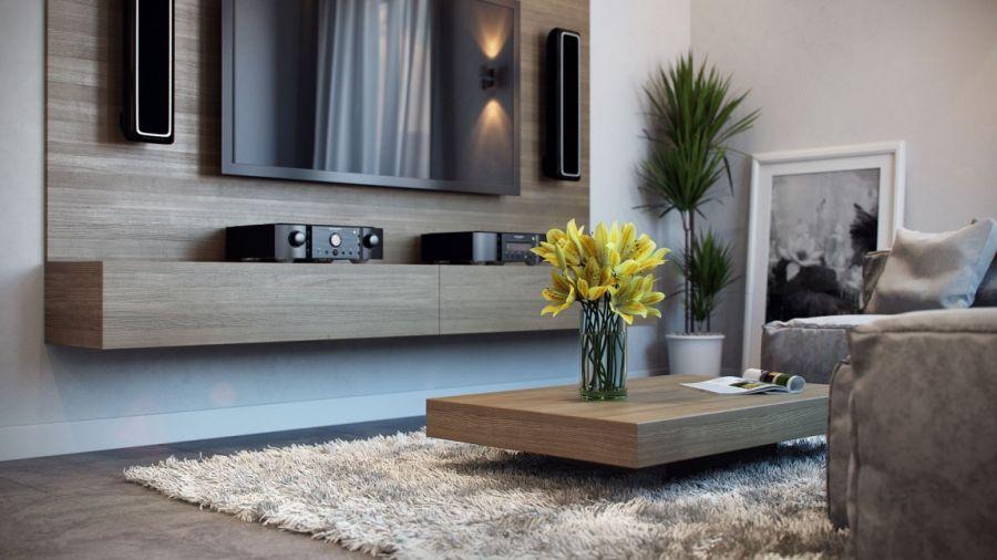 contemporary german apartment design showcases a stunning interior - Contemporary Living Room Tables