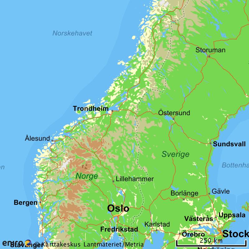 finne adresser i norge