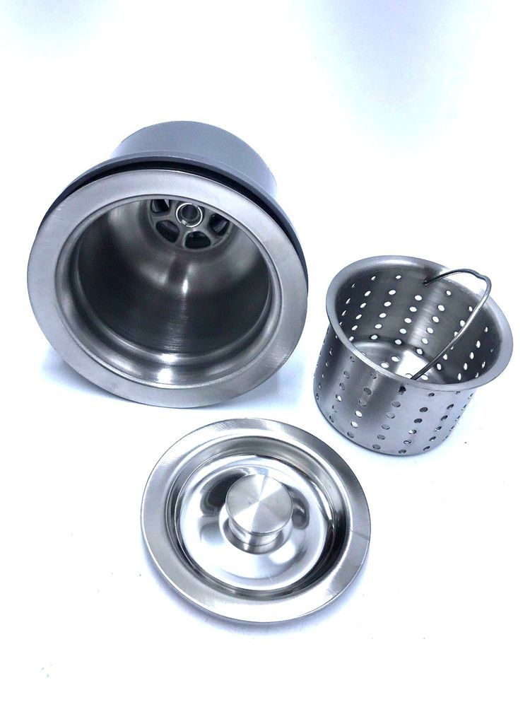KRAUS BST 2 Basket Strainer in Stainless Steel