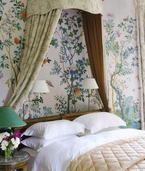 The Chinoiserie Bedroom (Chinoiserie Chic) (With images ...