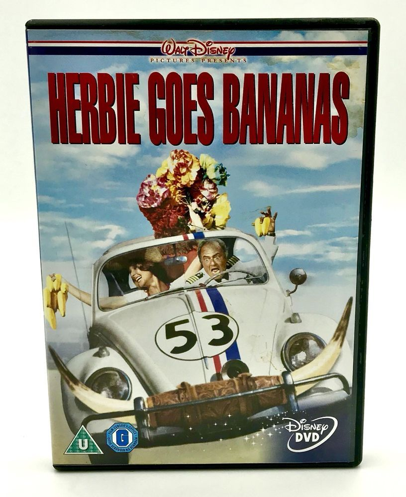 Walt Disney's Herbie Goes Bananas DVD Comedy Family Movie