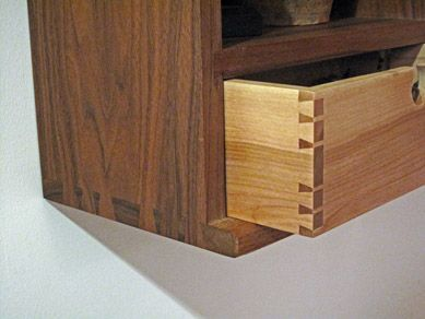 dovetail layout | Whiskey Cabinet | Pinterest
