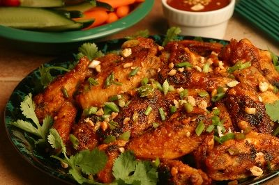 Garlic chili pepper chicken wings from a taste of thai food garlic chili pepper chicken wings from a taste of thai forumfinder Choice Image