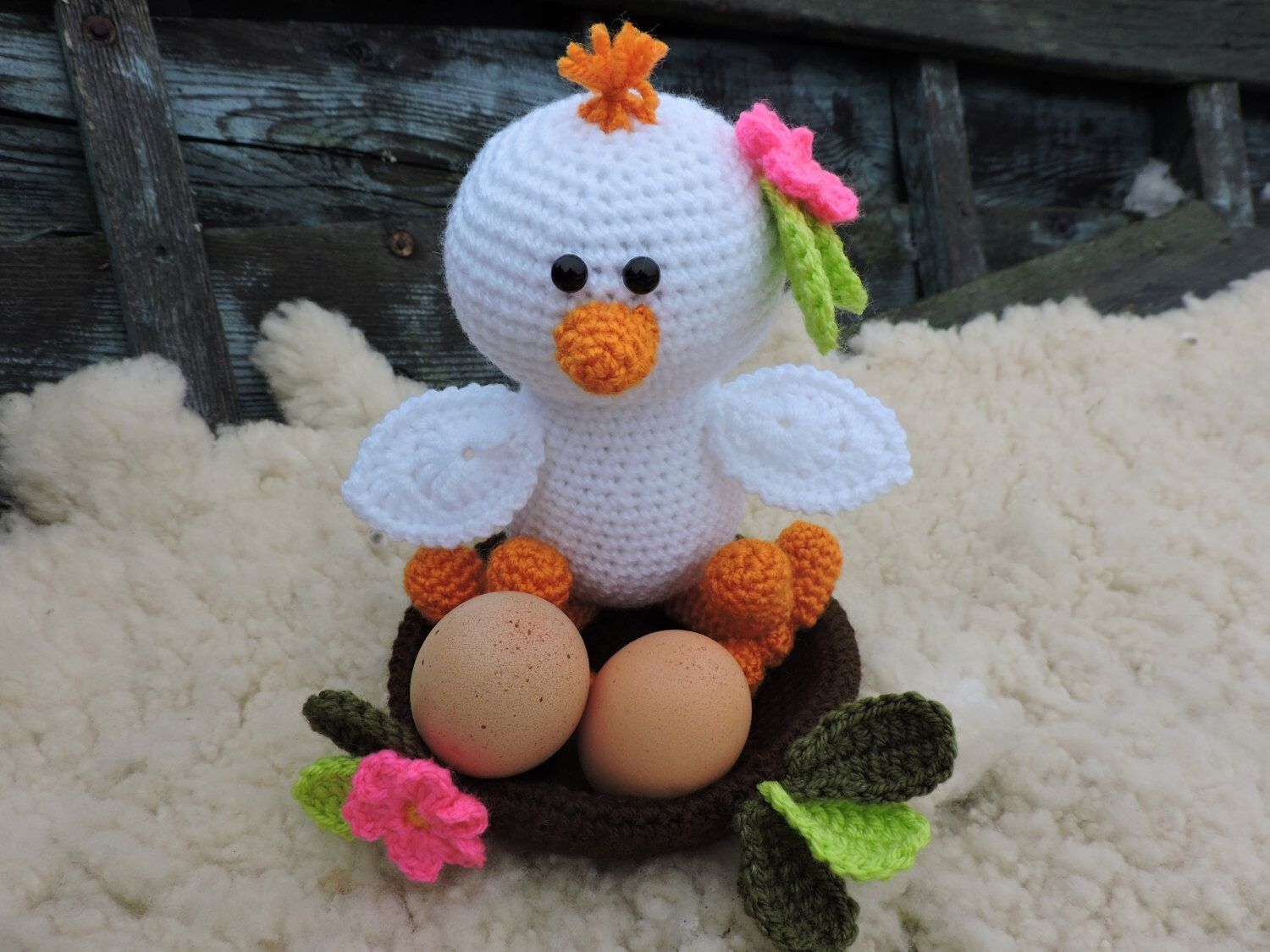 Amigurumi Crochet Books : Amigurumi crochet pattern the easter baby chicks crochet bird e