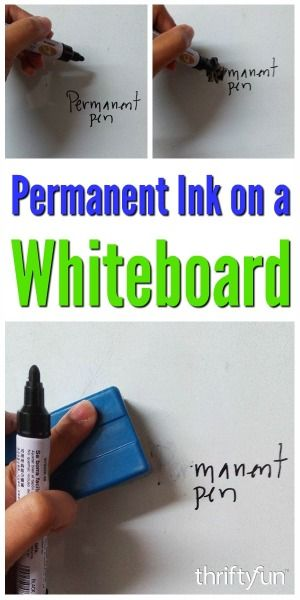 Removing Permanent Marker On A Whiteboard Remove Permanent Marker Permanent Marker How To Remove Sharpie