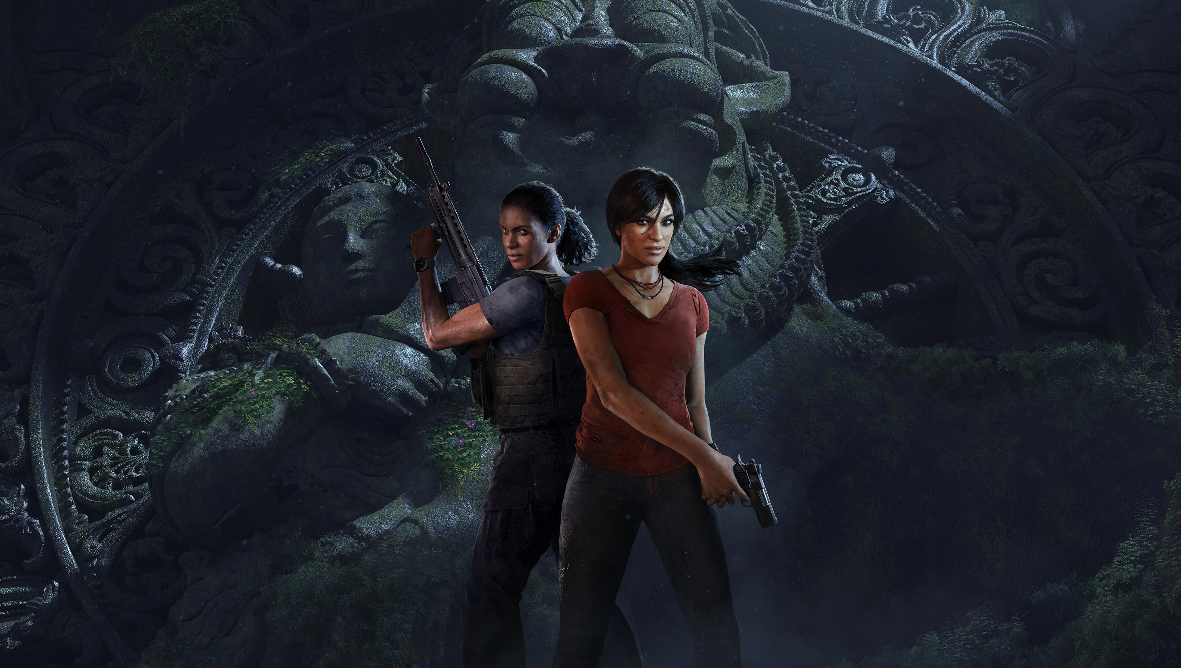 Uncharted The Lost Legacy Wallpaper Uncharted Legacy Uncharted Series