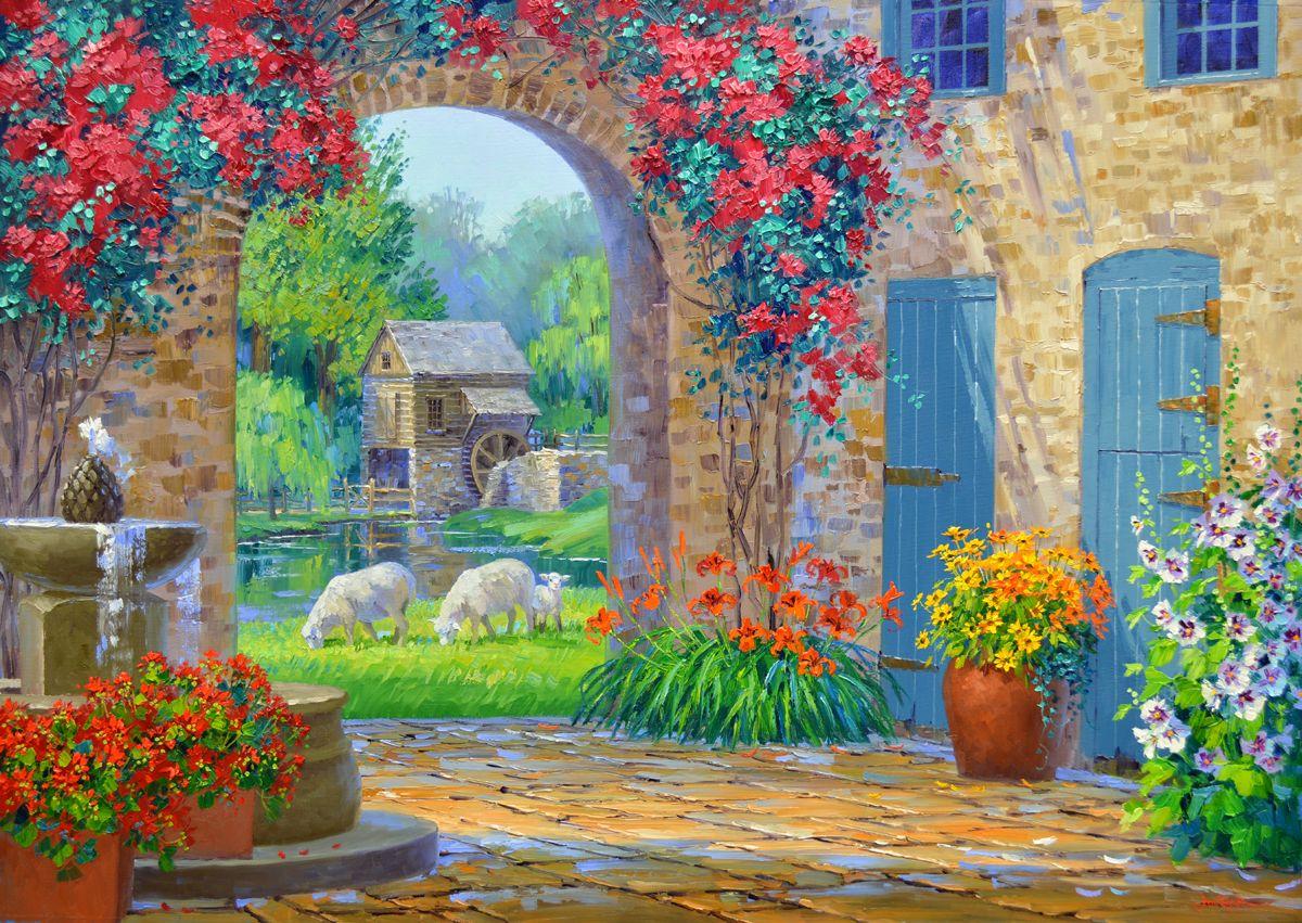 Mikki Senkarik Paintings - Buscar Google Yal Boya-oil Paint Art Mural