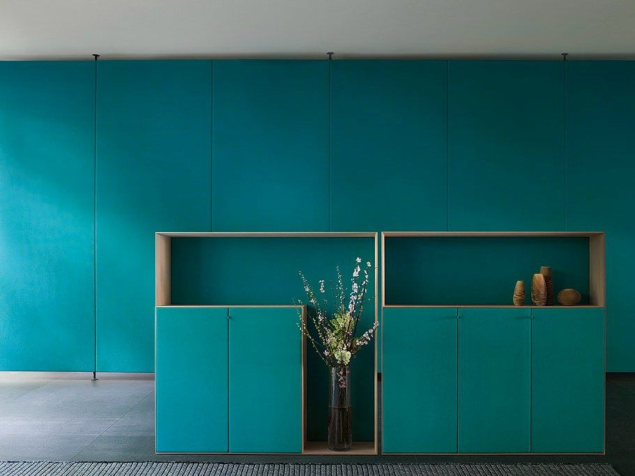 Edel Wooden Highboard Edel Collection By Paola Lenti
