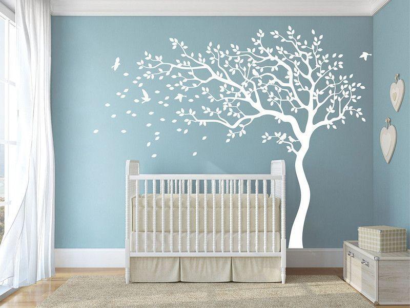 20 Schön Wandtattoo Baum Weiß Kinderzimmer Kinder zimmer