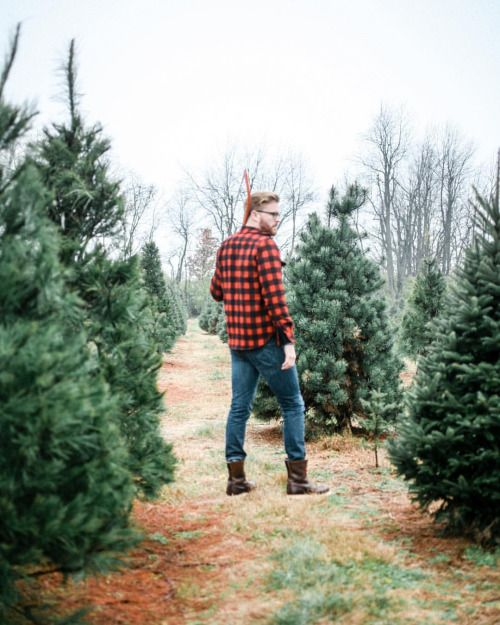 Folklifestyle My Friend Gordonduren And I Both Live In Kentucky A Land Where Flannel And Boots Have Bee Buffalo Plaid Flannel Christmas Tree Farm Tree Farms