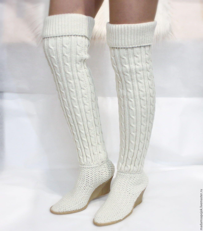Pin de Erika Enciso en Tejido | Pinterest | Zapatos tejidos, Botas y ...