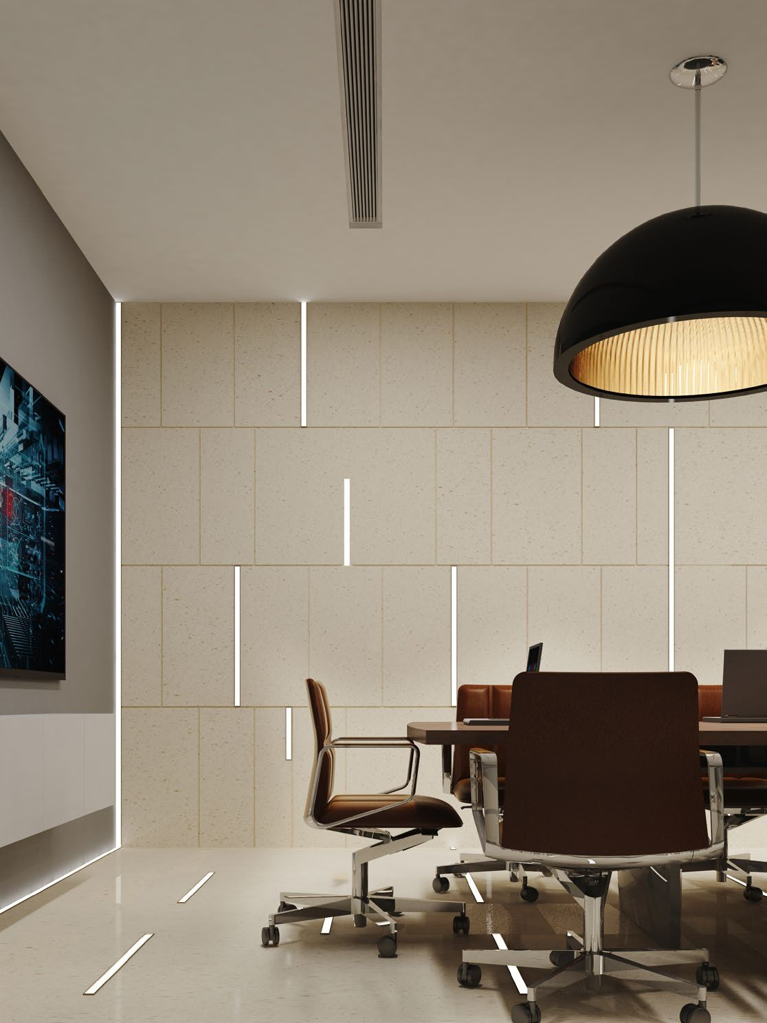Minimalist design  office ideas office lighting  wall