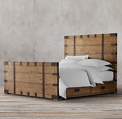 Wood Beds | Restoration Hardware