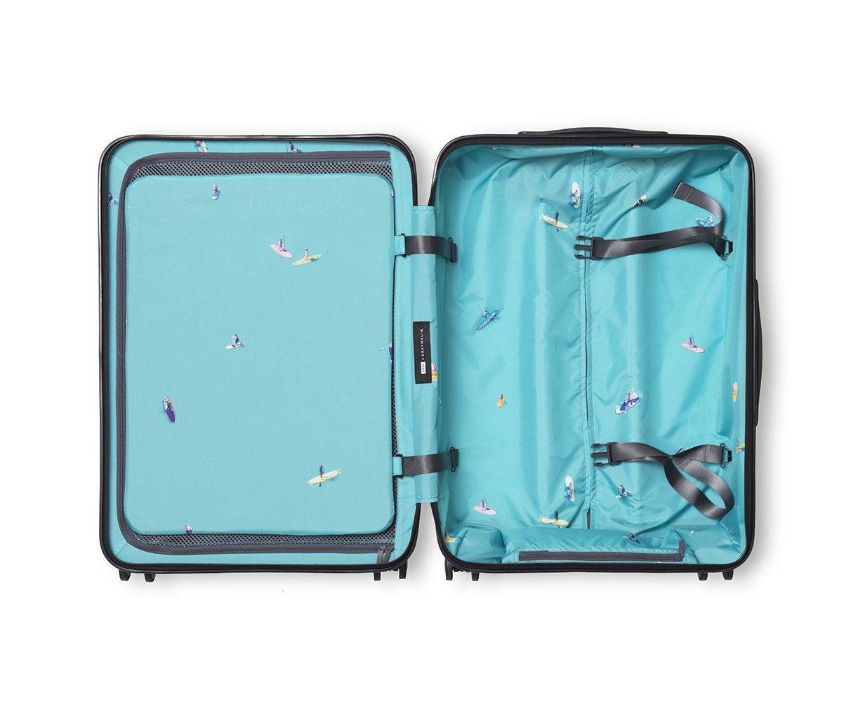 81c0a6f8b72b AWAY Luggage with Limited edition bags in three colors featuring a ...