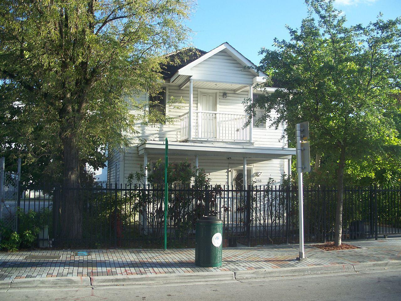 D. A. Dorsey House in Miami, Florida.