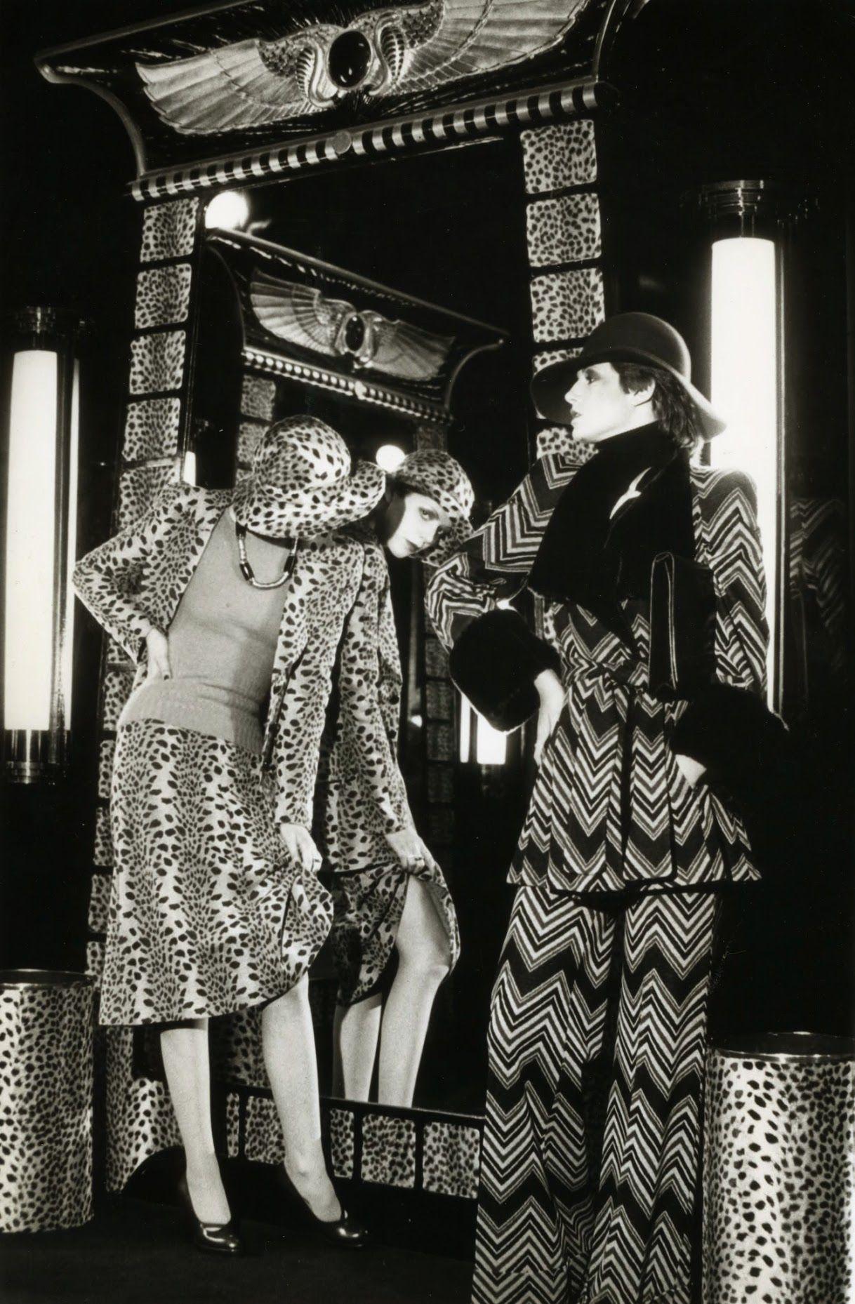 How does 1960's biba influence fashion today?
