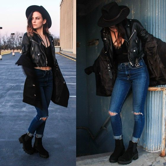 Waters Riley - Asos Boots, Zaful Harness, Gamiss Coat - We are The Innovators