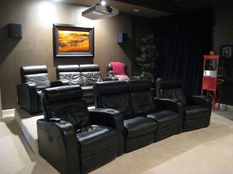 Contemporary Media Roompangaea Interior Design Portland Or Magnificent Living Room Theater Portland Oregon Decorating Design