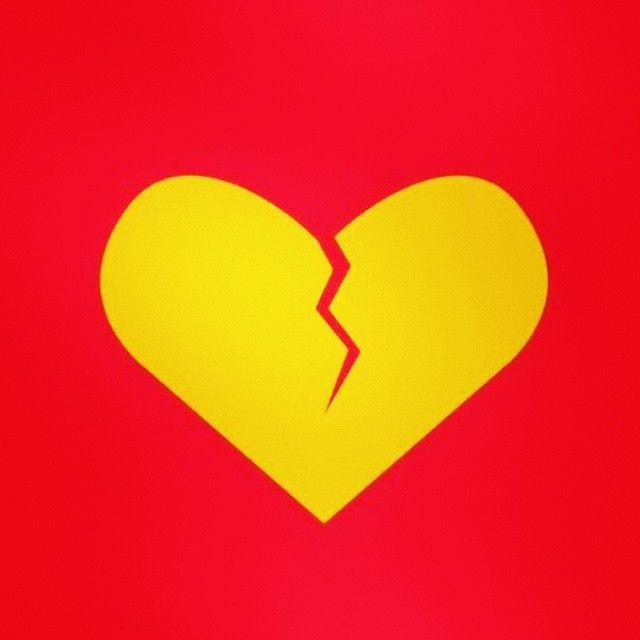Corazón roto.