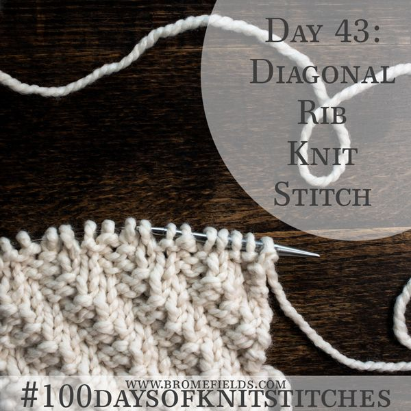 Texture with just knits and purls! {Pattern+Video}   videoknit 1 ...
