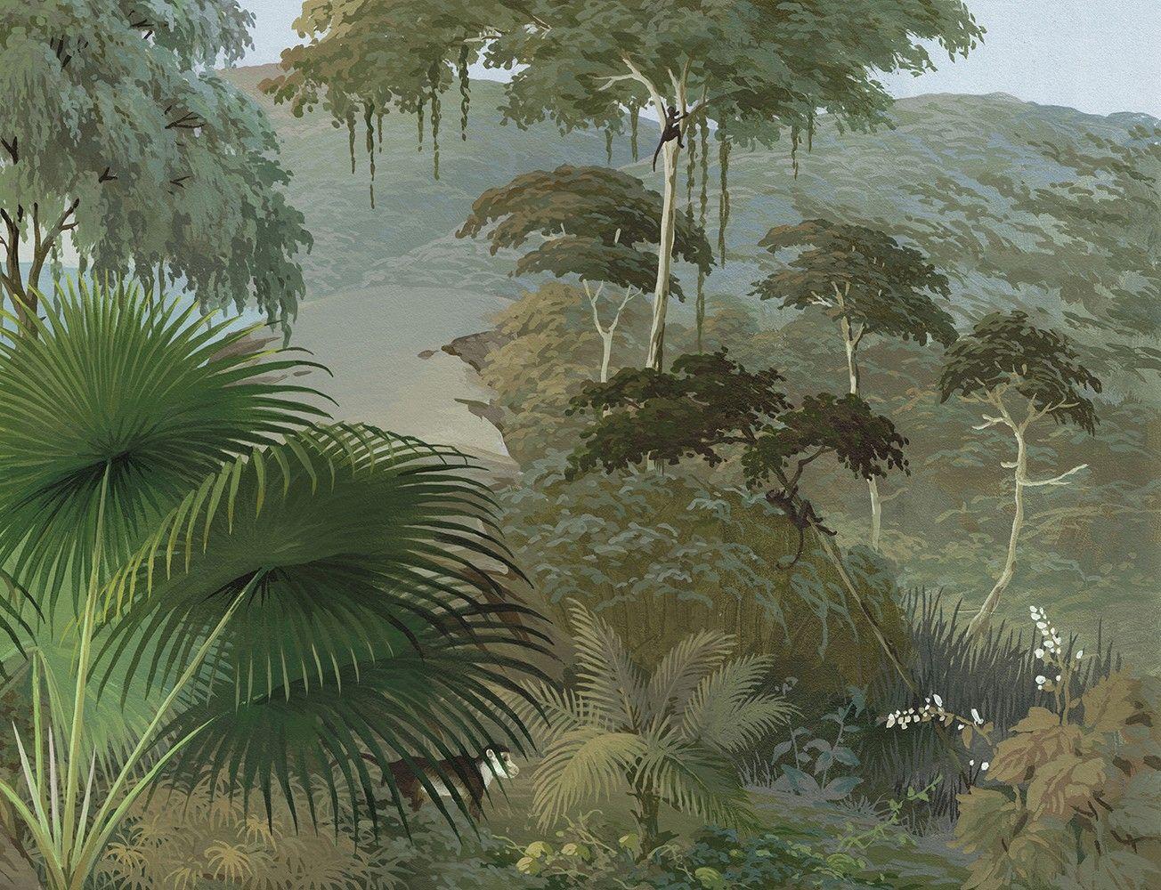 Papier Peint Panoramique Lombok Couleur En 2019 Papier