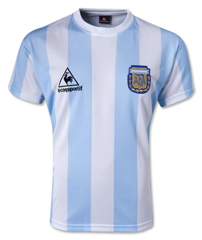 1986 #argentina #retro Home #soccer #jersey #shirts | Soccer ...