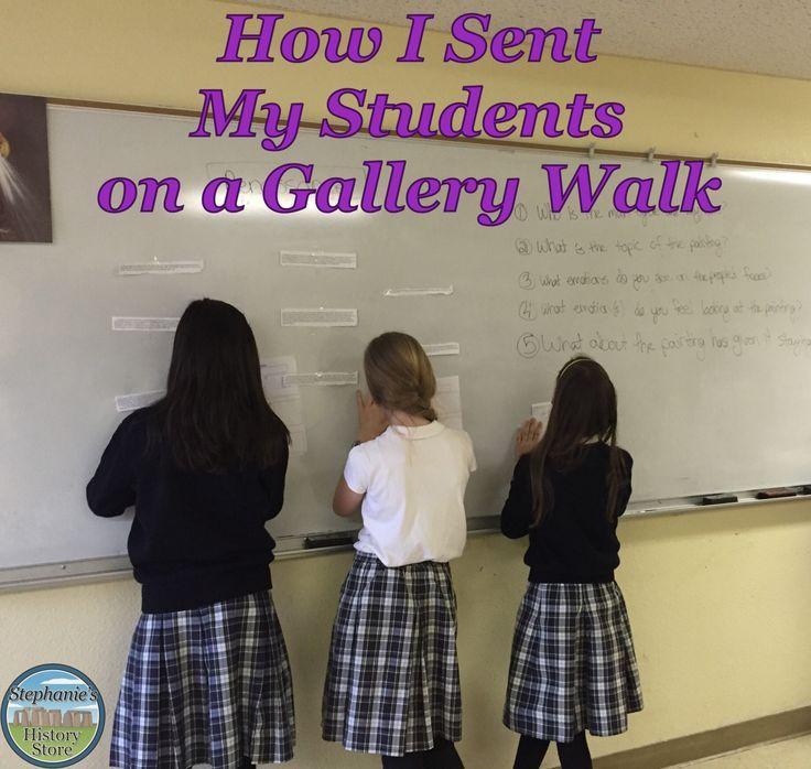 Gallery Walksanother Pinterest Success Summative Assessment And