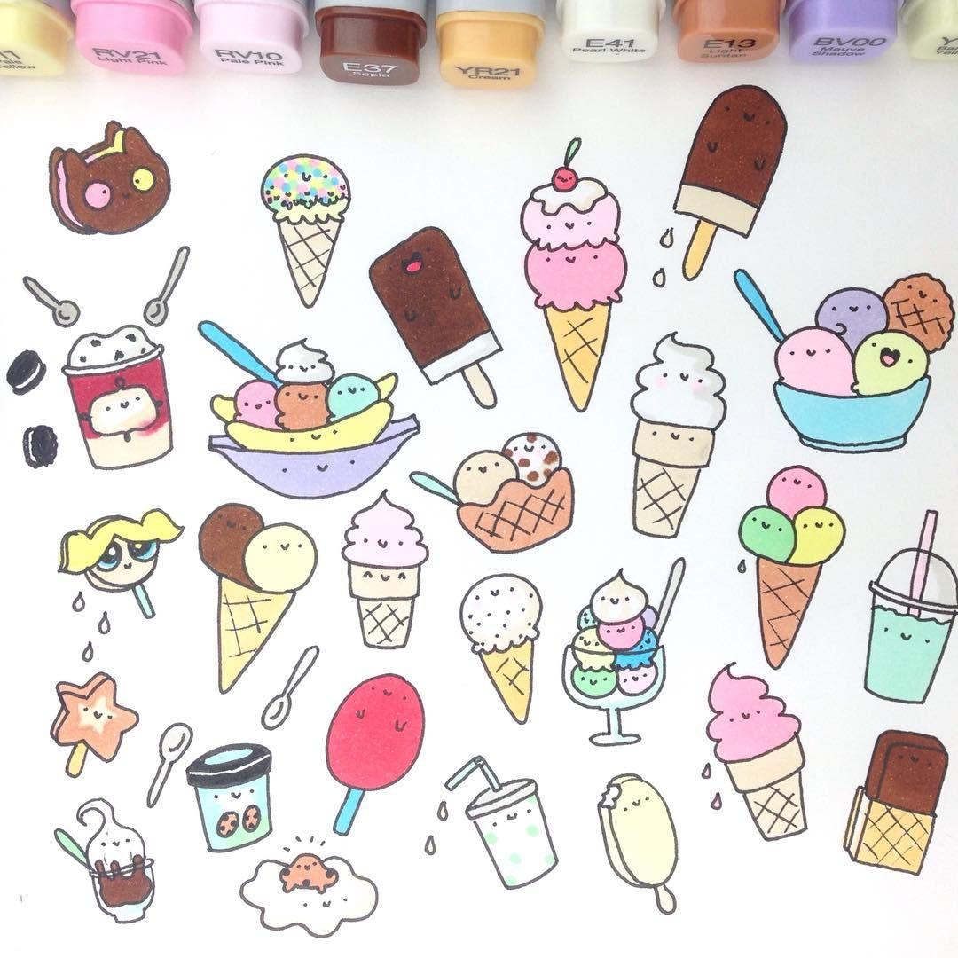 Dessert doodles   Hobbies - Journaling   Scrapbooking in ...