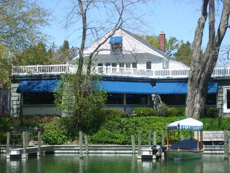 The Bluebird Restaurant Leland Michigan Lake Leelanauleland