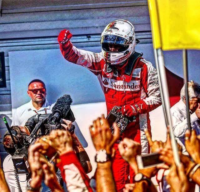 Sebastian Vettel   Ferrari 2015 Season