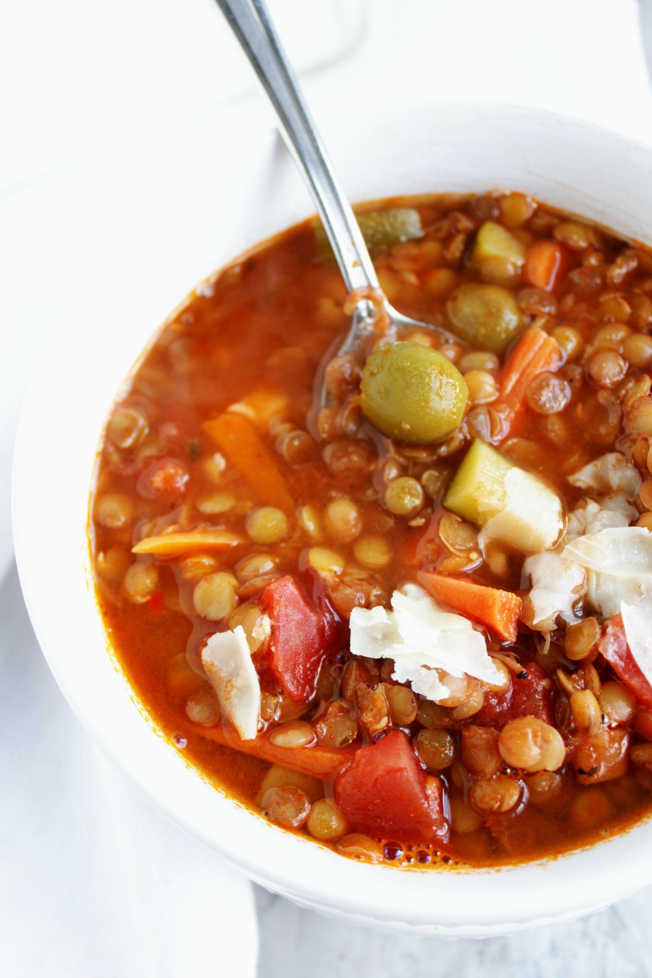 lentil soup petitfoodie