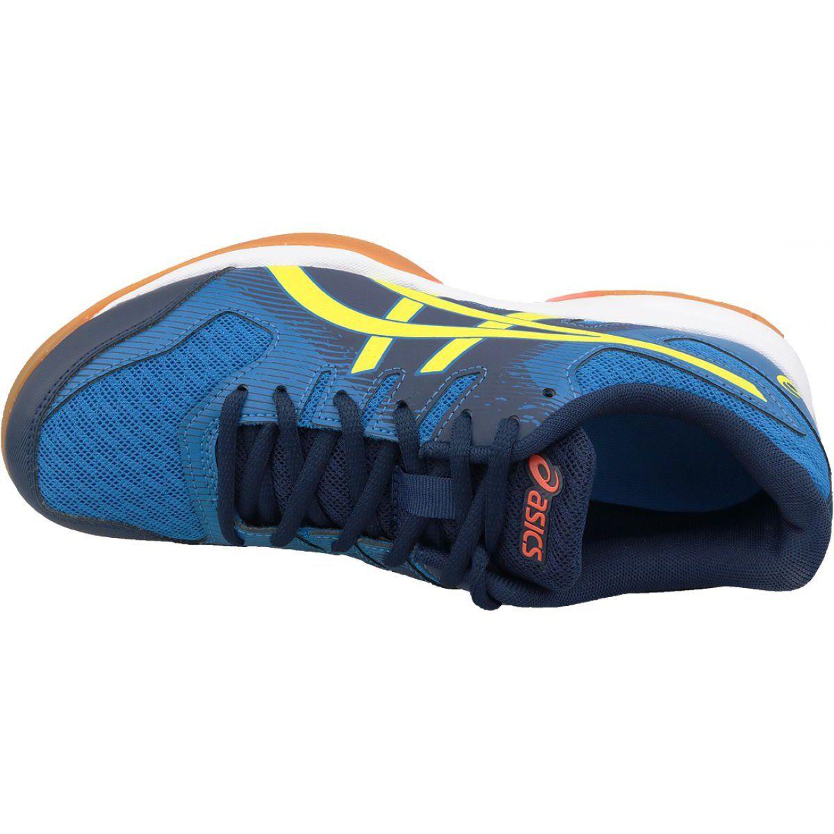 Asics Gel Rocket 9 M 1071A030 400 volleyball shoes blue blue