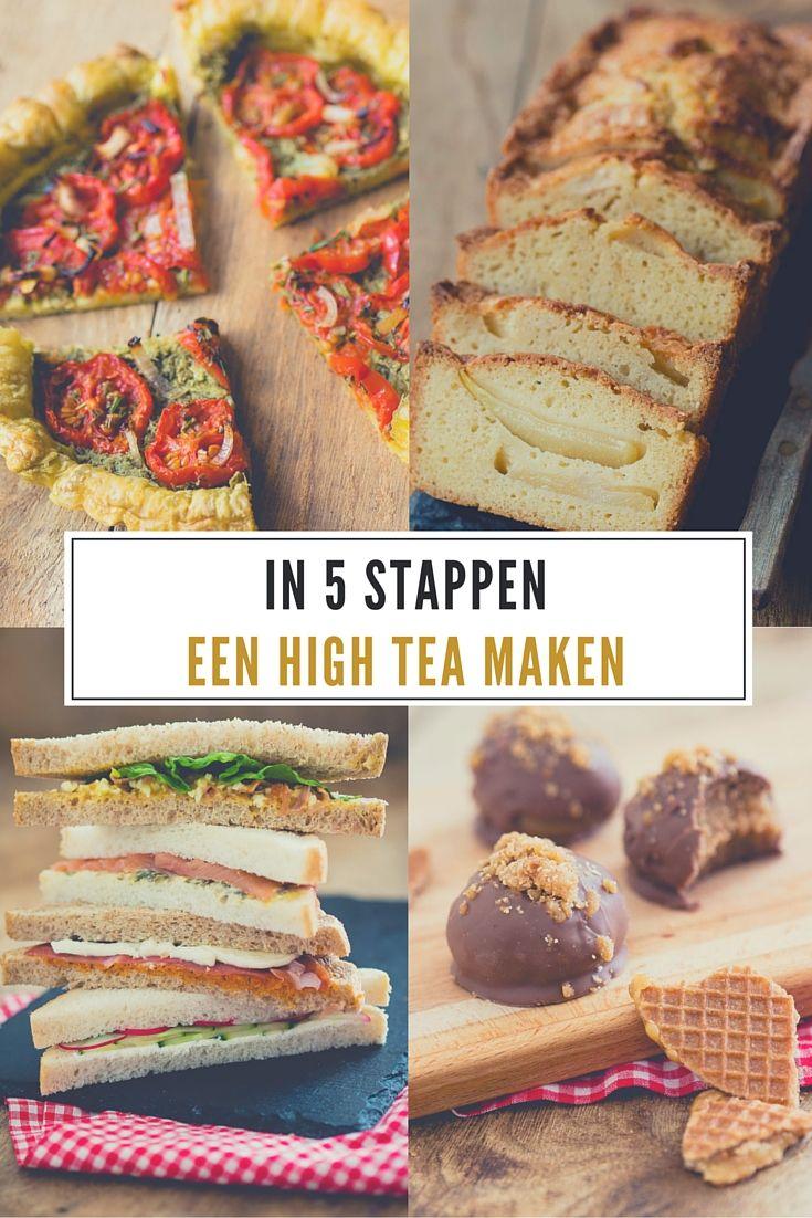 Iets Nieuws in 5 stappen een high tea maken | High tea - High tea sandwiches @EV69