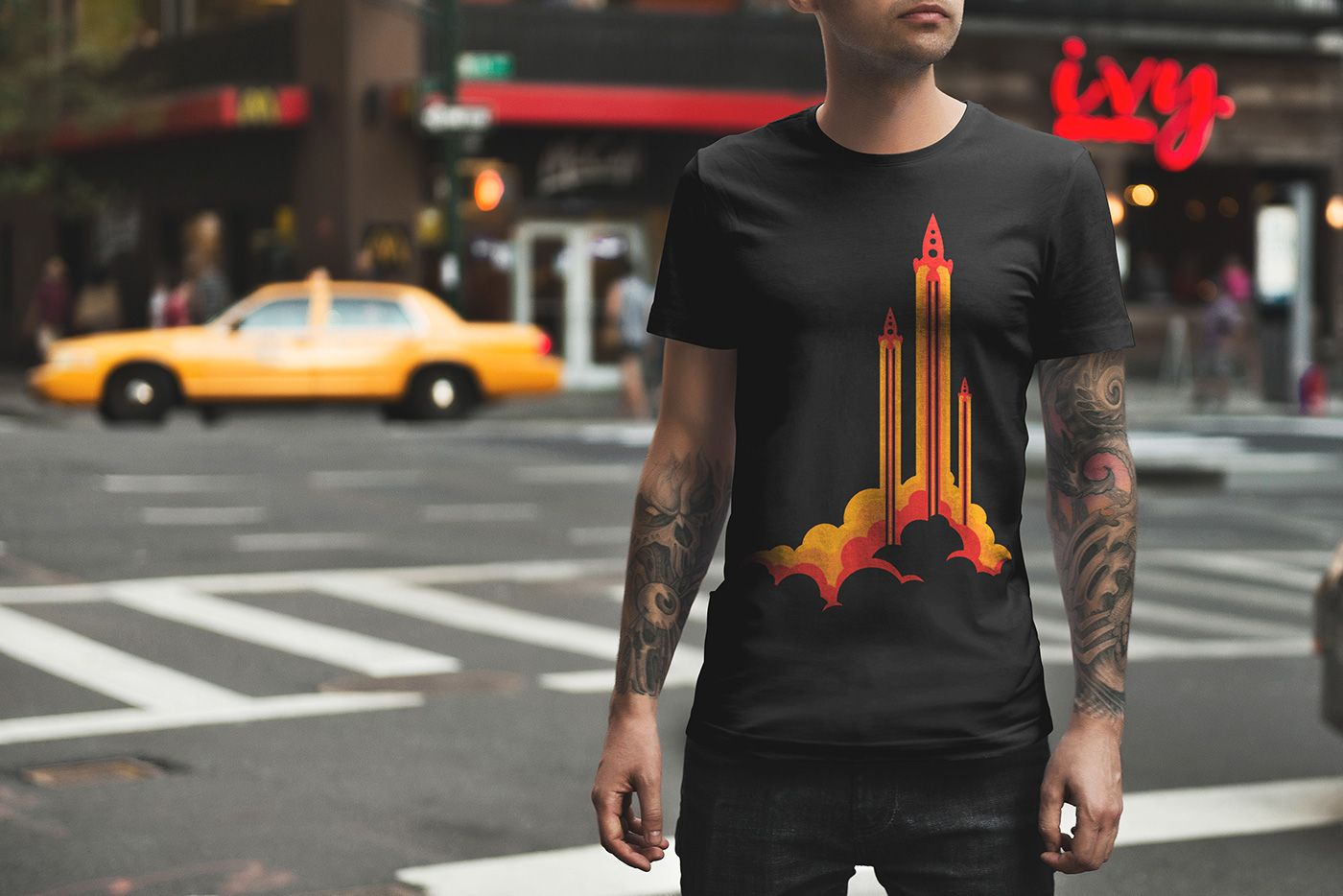 5c319049c21234 T-Shirt Mockup Urban Edition Vol. 2 on Behance