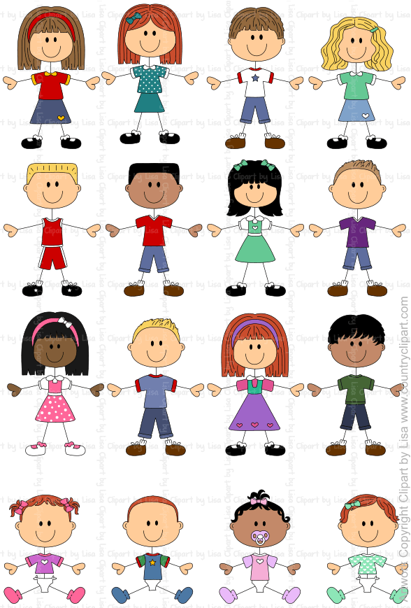 stick figure kids and babies graphics and clipart samples 5 rh pinterest co uk images clipart noel images and clip art