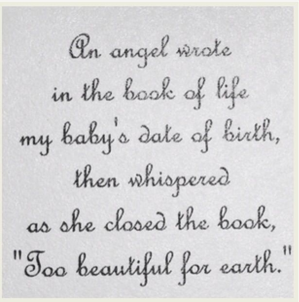 I Love This Beautiful Quote For Baby Child Loss 3 3 Baby Loss