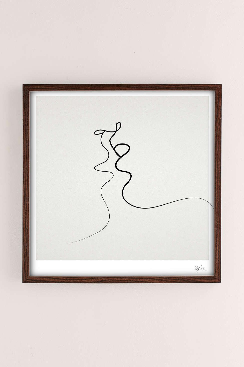 Quibe kiss art print kiss art spaces and dorm