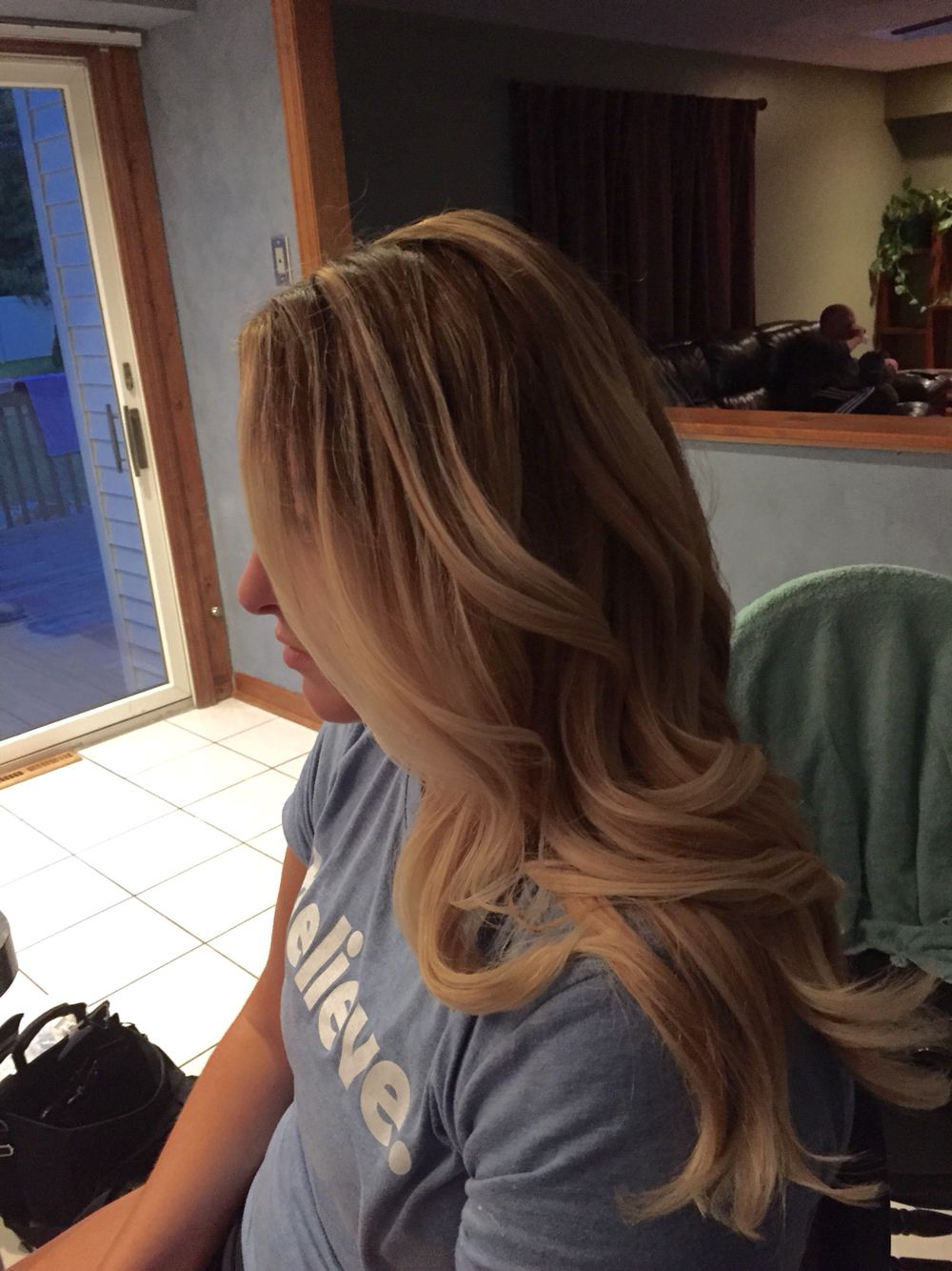 From light to dark roots reverse ombre hair pinterest reverse