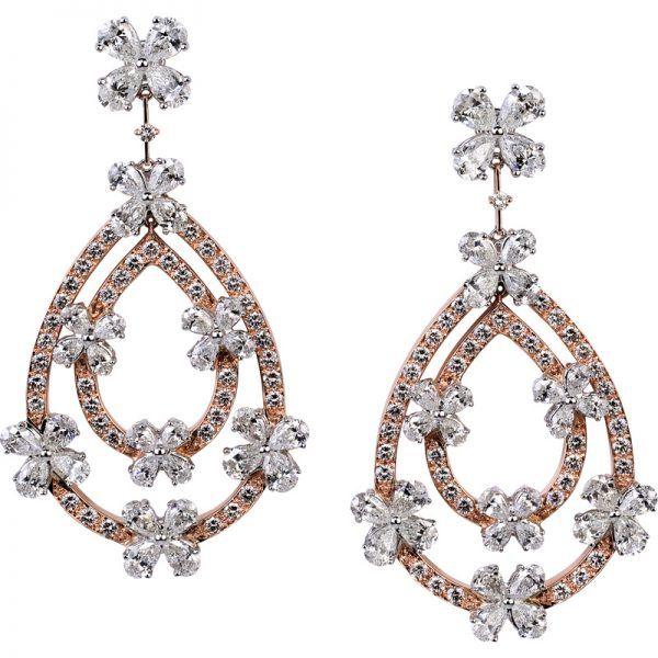 Clover Earrings | Gilan - High Jewellery, Istanbul