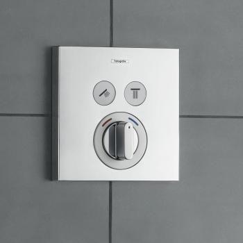 hansgrohe showerselect mischer unterputz f r 2 verbraucher badezimmer pinterest sinks. Black Bedroom Furniture Sets. Home Design Ideas