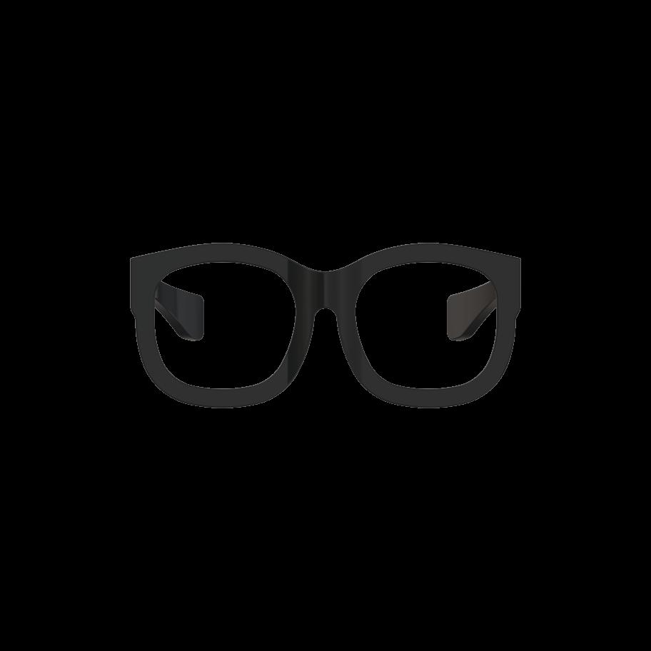 2daf69b1f551 Model 02 Black Premium Wayfarer-Frame Eyeglasses   Price 125.00   The Model  02 design