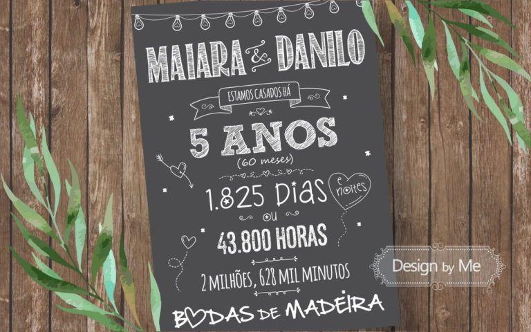 Bodas De Madeira 5 Anos De Casamento Bodas E Bodas De Algodao