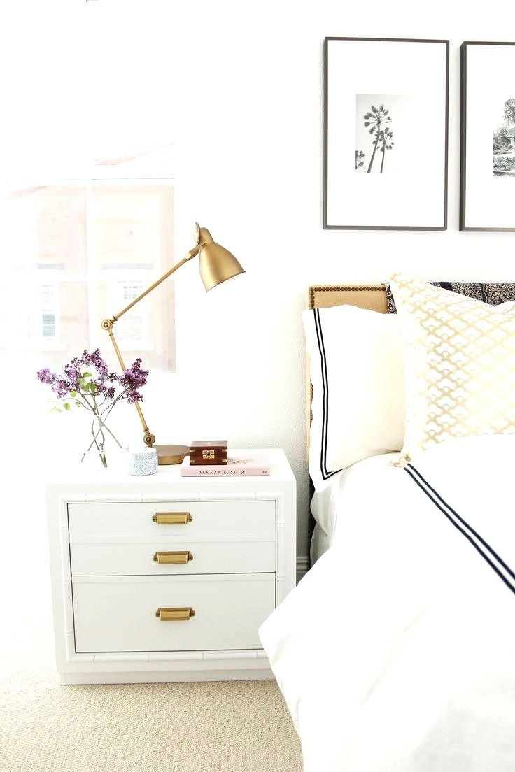 8 Smart Home Decor Tips To Get The Designer Look For A LOT LESS! Industrial Table  LampsWhite BedroomsBedroom ...