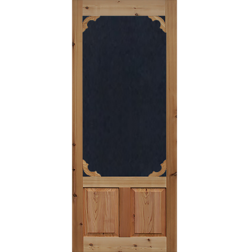 Screen Door Cedar Woodland 1 3 8 In Thick Interior