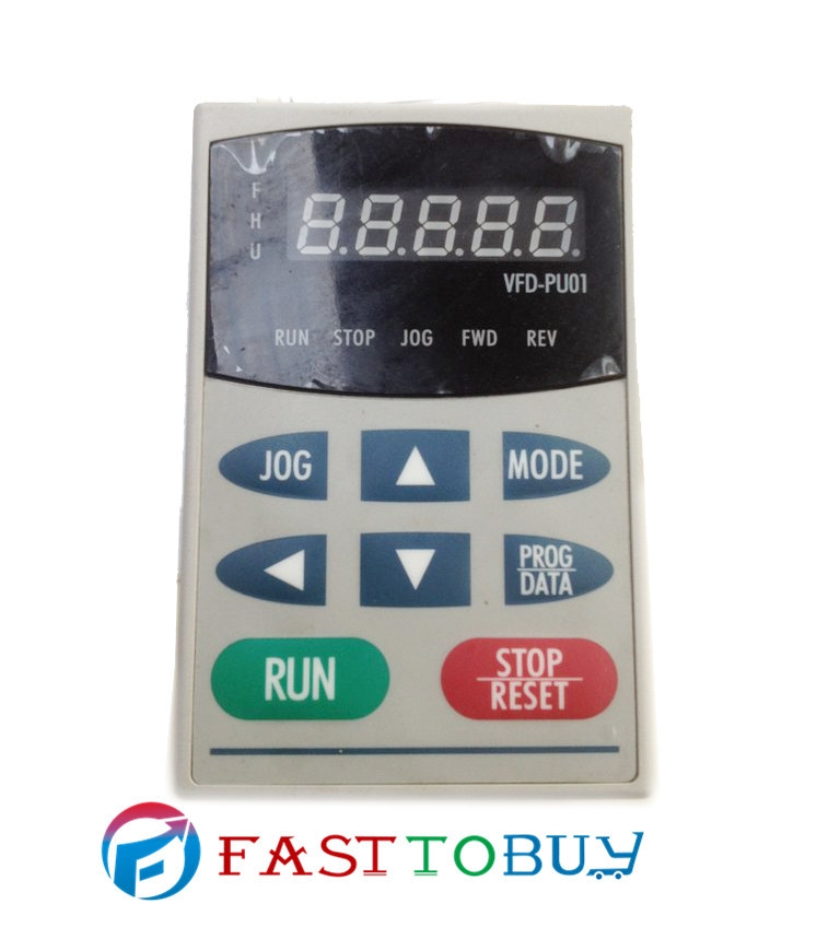 53.00$  Watch now - http://alivd6.worldwells.pw/go.php?t=798488802 - Digital Keypad Operation Panel VFD-PU01 for Delta Inverter VFD-B/VFD-F series new in box 53.00$