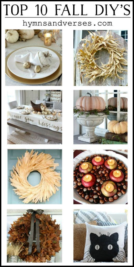Photo of Top 10 Fall DIY Projects at Hymns and Verses – Hymns and Verses
