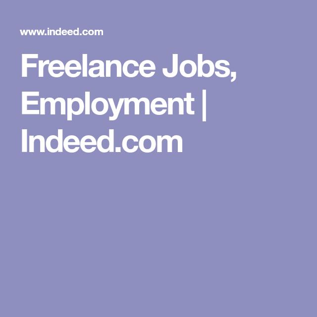 Freelance Jobs, Employment