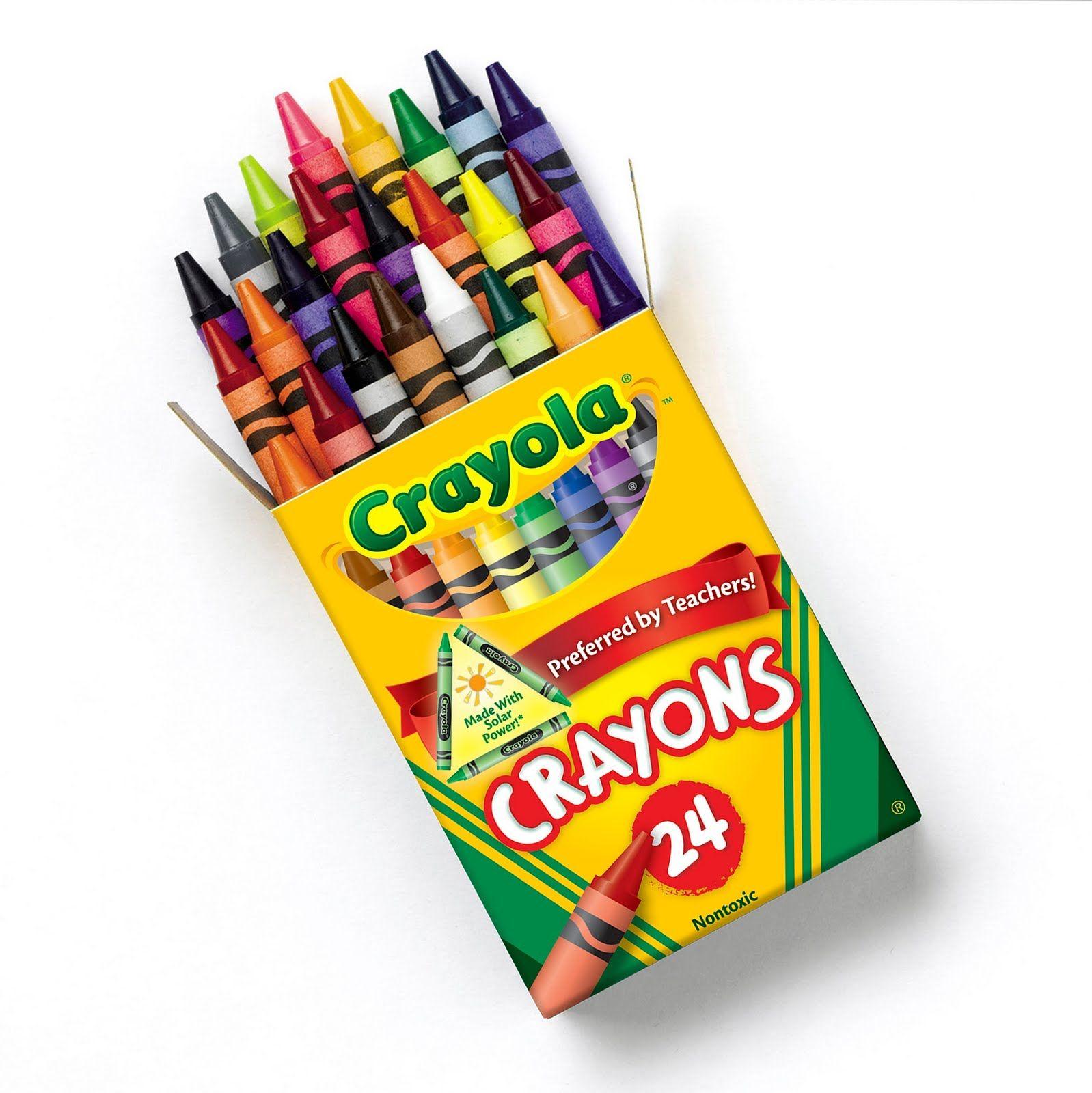 Crayon Box Clip Art - Viewing | Printables | Pinterest