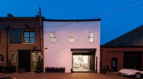 An 1800\u2032s Horse Stable Becomes a Studio with a Home Above Building