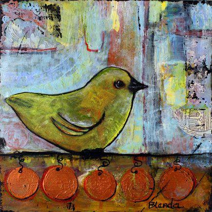 Tweety Bird by Blenda Tyvoll
